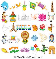 indiano, icona