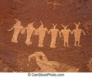 IndianPetroglyph2 - Ancient Indian Petroglyphs along the...