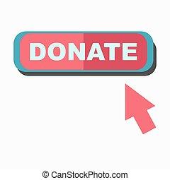 indicare, cartello, isolato, asse, freccia, bianco, donare
