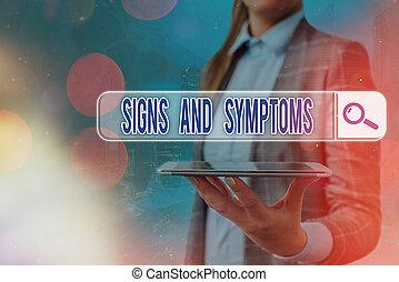 indicare, esposizione, connection., tecnologia, foto, symptoms., abnormalities, web, testo, concettuale, digitale, ricerca, segni, informazioni, probabilmente, medico, futuristico, condizione, rete, segno