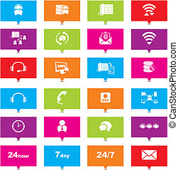 indicateurs, téléopérateur, rectangle