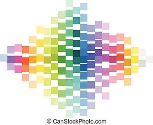 indicator., coloridos, gradiente, abstratos, vetorial, abstrsct, fundo