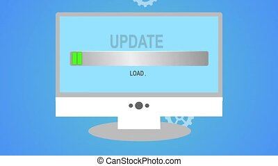 Indicator download the update. Download Update