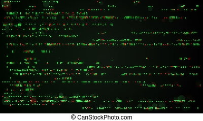 Indicator panel abstract seamless loop background