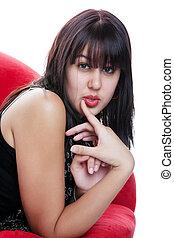 Indie Girl Portrait