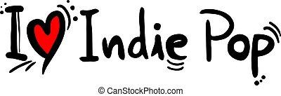 indie, style, musique, pop