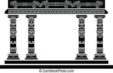 indien amérique, temple