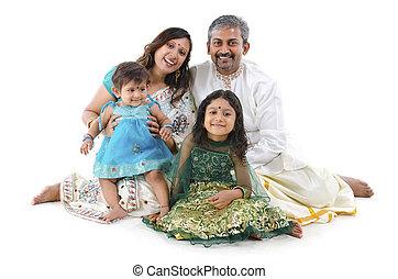 indien, famille