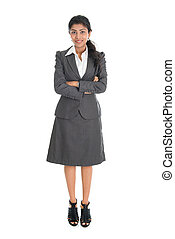 indien, femme affaires