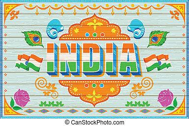 indien, hintergrund