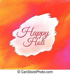 indien, holi, coloré, fond, heureux