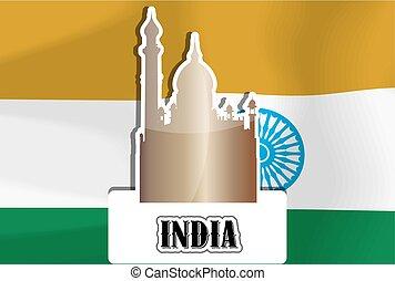 indien, illustration