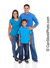 indien, jeune famille