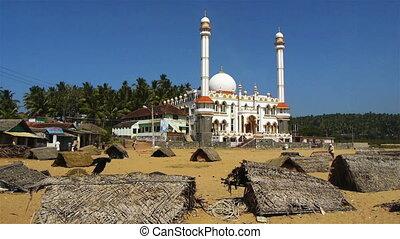 indien, mosquée