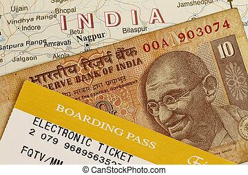 indien, reise