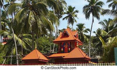 indien, temple