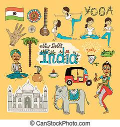 indien, wahrzeichen