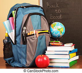 indietro scuola