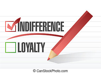 indifference selected illustration design