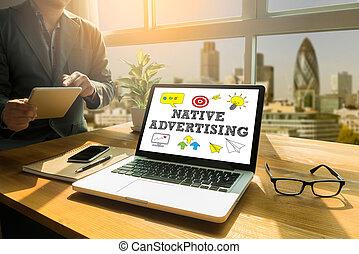 indigène, publicité