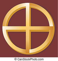 indigène, spiritualité, symbole