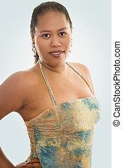 Indigenous Woman - Portrait of an indigenous woman
