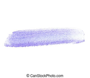 indigo blue watercolor brush stroke