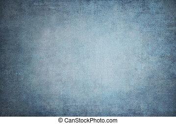 Indigo hand-painted backdrops