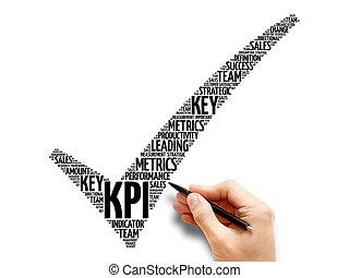indikator, -, markierung, schlüssel, leistung, kpi,...
