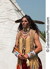 indio americano, norte