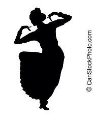 indio, bailando