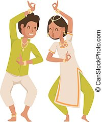 indio, bailarín, bollywood, tradicional, fiesta, culture.