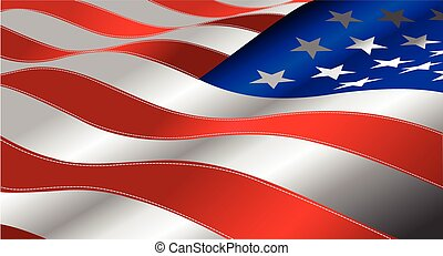 indipendenza, 4, giorno, unità, luglio, %u2013