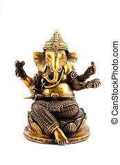 indische , elephant-faced, gott, ganesh