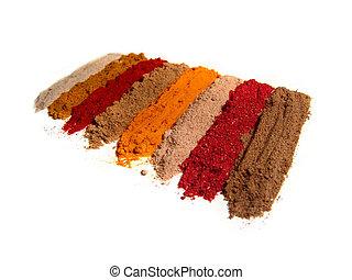 indische gew rz india spices freigestellt indische bild suche foto clipart. Black Bedroom Furniture Sets. Home Design Ideas