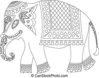 indischer elefant