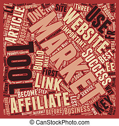 Indispensable Tools to Catapult the Affiliate Marketer s Sales text background wordcloud concept