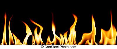 individ, flammor