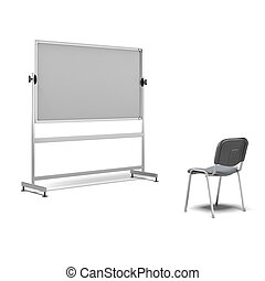 individual lessons concept isolated on a white background. 3d render