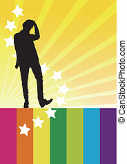 individual super idol silhouette