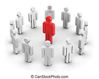 individualiteit, concept, bewindvoering