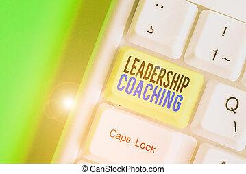 individualized, s, handlowy, lider, showcasing, pokaz, nuta...