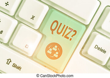 individui, affari, testo, concettuale, question., quiz, prova, conoscenza, o, teams., mano, foto, scrittura, esposizione, concorrenza, fra