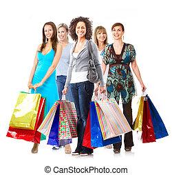 indkøb, kvinde