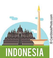 Indonesia country banner