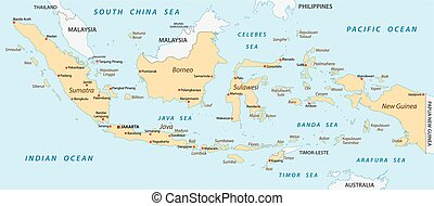 indonesia map - indonesia vector map