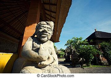 Indonesia - old hindu architecture on Bali island