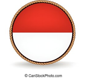 Indonesia Seal - Flag seal of Indonesia.
