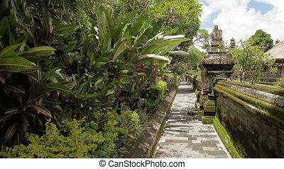 indonesia., taman, royal, bali., temple, mengwi, repère,...