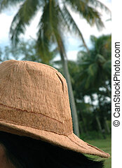 Indonesia typical cap made from tree bark